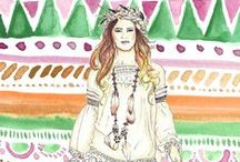 Ethinics - Boho - Hippie / by Alice Tischer