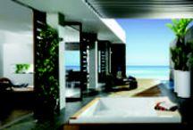 Espacios de diseño / Imagenes en alta calidad del interior y exterior de hogares de diseño.