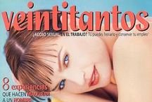 PORTADAS 1997 / Portadas de la revista Veintitantos 1997