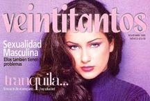PORTADAS 1995 / Portadas de la revista Veintitantos 1995