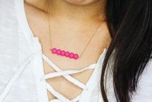 Lovewell Classic / Our Lovewell Brand Classic line of bead-bar necklaces