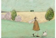 Sam Toft / Quirky limited edition prints from artist Sam Toft, use code PIN10 to save 10% at the online website