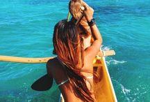 Paddle / Waka ama // outrigger canoeing