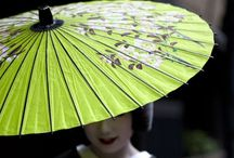 Umbrellas to lust for / Umbrellas are no longer the elements protector. Gorgeous, cute, traditional and sometimes objects of art, umbrellas and parasols have come a long way from their humble origin.