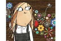 Lauren Child / Limited edition and Collector's Prints by illustrator Lauren Child. Including Charlie and Lola and Clarice Bean.