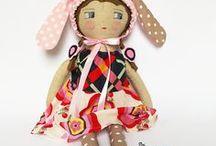 ragdolls /  handmade ragdolls ,rag dolls, dolls, textile dolls, fabric dolls
