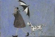 101 Dalmatians / Dalmatian artwork & more