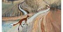 Foxes / Artwork featuring foxes