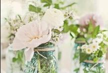 Flower and lighting for wedding