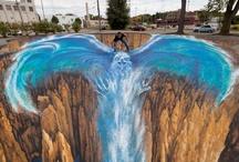 Incredible 3D Street Art / by Carmin Simone