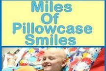 Miles of Pillowcase Smiles / Our campaign to sew 44,000 pillowcases (1 for every child in treatment today) during Childhood Cancer Awareness Month! JOIN US in our efforts and give a child a reason to smile :)