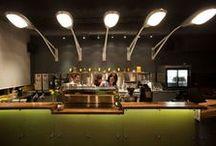 bars & restaurants & coffee shops  / Interior design / by Katarzyna Ciszewska
