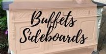 Buffets Sideboards / Painted Refinished Buffets and Sideboards