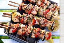 Salute to Summer Grilling / Our grilling recipes are perfect for all summer occasions. Salute to grilling and warm weather!