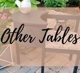 Other Tables / A Collection of different or odd painted and refinished tables