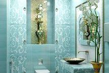 BIG & small Bath Decor........... / Look & See, Say No More.... / by Crystal Davis