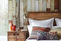 Bedroom Decor / Different bedroom design options. DIY furniture for bedrooms etc.