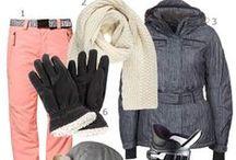 Équipement de ski au féminin / #ski #woman # vêtements #clothes