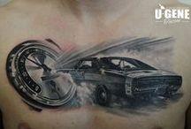 U-gene (Evgeniy Goryachiy) Tattoo artist