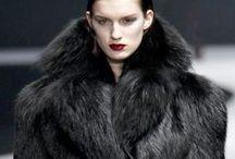 Haute Couture in Black / #Mode #couture #noir #black