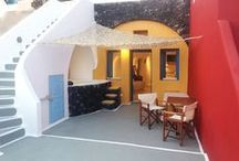 "Studio 1 ""Nikos"" / The yellow cave house at level 1 of Hara's houses complex."
