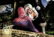 Black Cat Cosplay / Spider Man and Black cat in the diamond Theft Black Cat https://www.facebook.com/karollvianacosplay Spiderman https://www.facebook.com/andreluiz.andrezao.1  photographer https://www.facebook.com/danieladamr   #cosplay #blackcat #marvel #spiderman