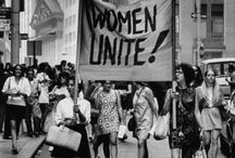 Feminism. / The radical notion that women are people.