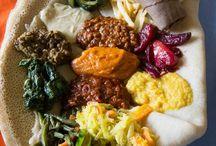 Äta: Afrikanskt.