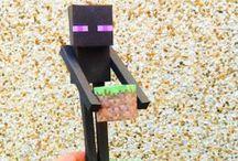 Minecraft paper crafts