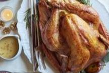 Thanksgiving Feast Favorites / A cornucopia of creative Thanksgiving turkey, sides and appetizer recipes all in one place. / by Giant Food