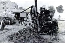 Czech & Slovak Steam: Threshing / Threshing, sawmilling and barn related work using traction engines or portables