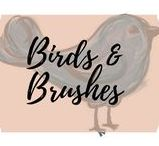Birds and Brushes
