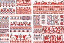 Sewing, embroidery, and yarn stuff / Cross stitch, embroidery, crochet, folk, diy