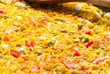 Äta: Spanskt. / Comida de España.