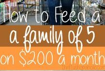 Recipes: Frugal Meals / Stretch your grocery budget with these frugal friendly recipes!