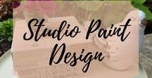 Studio Paint Design / The Best of Studio Paint Design.  Painted Furniture. Refinished Furniture.  Annie Sloan Chalk Paint. General Finishes Gel Stain and Milk Paint.  Painted Dressers. Painted Sideboards, Painted Buffets.  Painted Furniture Ideas, Inspiration, DIY