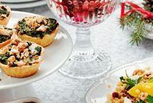 Julmat. / Vegetarian food for Christmas
