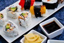 Äta: Sushi.