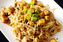Food: Tofu.