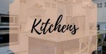 Kitchens / Painted Kitchen Ideas, Painted Cabinets, Before and After Painted Kitchen Cabinets