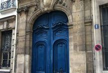 Make an Entrance  / Doors, Knobs, Knockers & Doorbells... and Gates / by lulu D