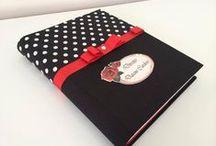 Cadernos encapados / by elane ribeiro