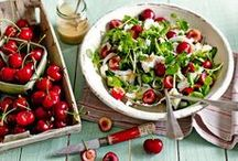 Season's Best Recipes / Follow our collection of the season's freshest, tastiest produce and yummy recipes to try. In season for July: cherries, beetroot, sweetcorn, celery, raspberries and lamb. / by Tesco Food