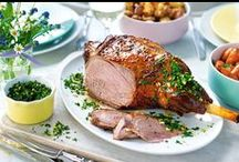 Lamb Recipes / Lamb is good to eat right now, and perfect for Spring and Easter. We love every succulent tender chop licking mouthful / by Tesco Food