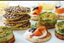 Canapés Recipes / Gorgeous sweet and savoury nibbles for every party occasion / by Tesco Food