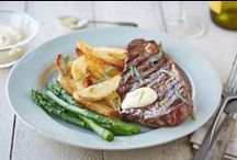 Romantic Valentine's Day Dinner for Two / Impress this Valentine's Day with these gorgeous recipes. From elegant starters to decadent desserts, rustle up a dinner that your loved one won't forget. / by Tesco Food