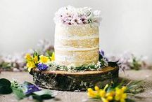 Wedding Cake Recipes / A marriage of feminine fairy cakes, colourful macaroons, delicately decorated sponges and chocolate cheesecakes will have all your guests falling in love on the big day. / by Tesco Food
