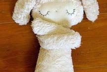Stuffed dolls / by Donna Mae