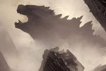 Godzilla Fan Artwork / Artist submissions for an IMAX Fan Art competition. / by Goodrich Quality Theaters