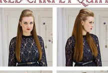hairstyles / hairstyles, hair cuts, beauty, make up, outfits...